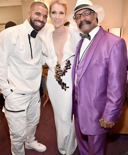 Drake Meets Celine Dion Backstage At The BBMAs, Says He Is Like A Year Away From Getting A Tattoo Of Her