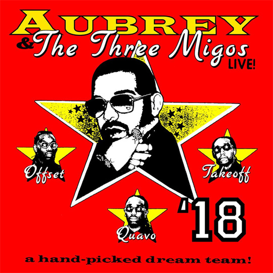 Drake & Migos Announce Dates For Their Aubrey & The Three Amigos Tour