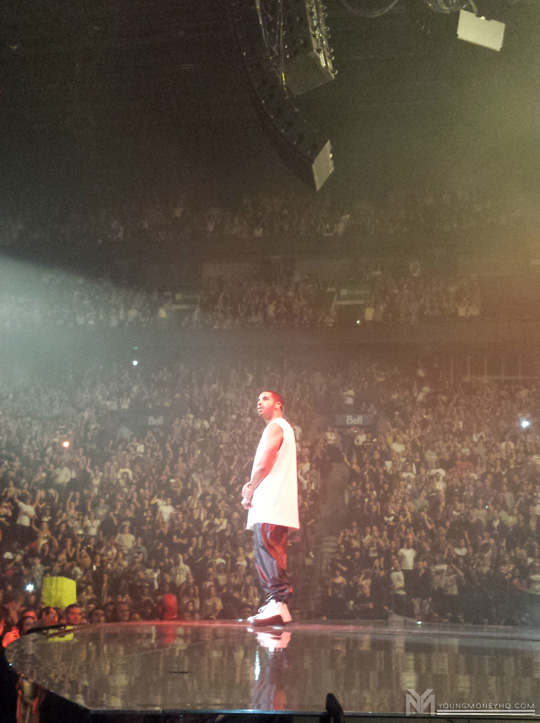 Drake Performs Live In Montreal Canada On His Would You Like A Tour