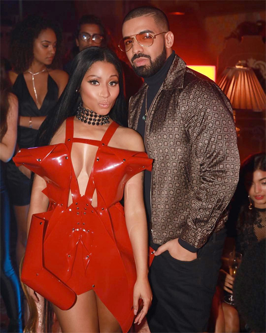 Drake & Nicki Minaj Earn Nominations At The 2018 Billboard Music Awards