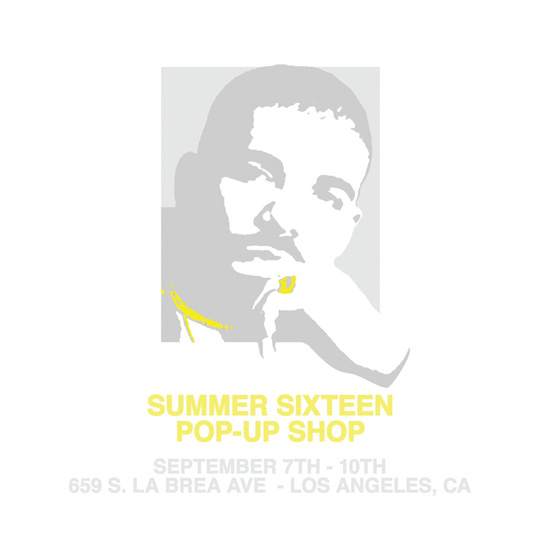 Drake Has Opened Up A Summer Sixteen Pop Up Shop In Los Angeles