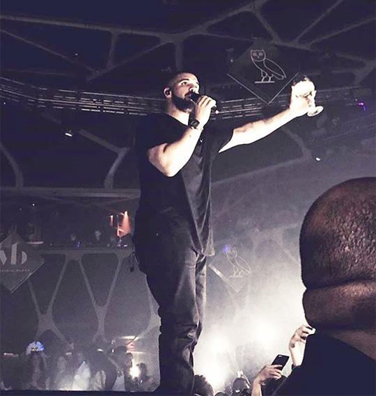 Drake Performs Back To Back Live For The Very Last Time At His New Years Eve Party