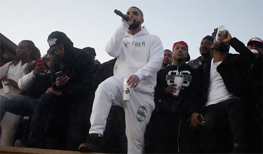 Drake Performs Big Rings, Hotline Bling & More Live At J Prince Jr Birthday Block Party In Houston