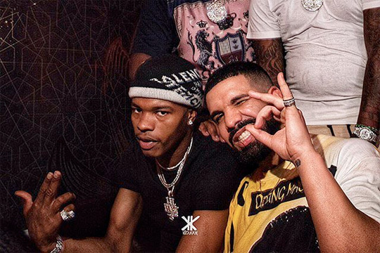 Drake Previews A New Collaboration With Lil Baby In Atlanta