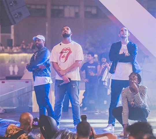 Drake Put On A Surprise Live Performance In Toronto For Canada Day