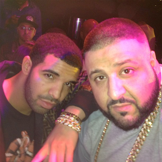 Drake Parties At Reign Nightclub In Atlanta