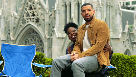 Drake Stars In Saturday Night Live Promos With Leslie Jones