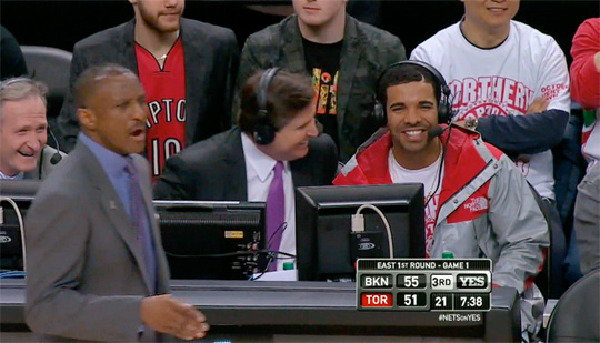 Did Drake Send Shots At Jay-Z During The Toronto Raptors vs Brooklyn Nets Game