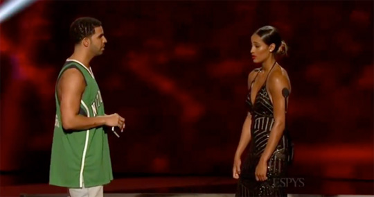 Watch Drake Host, Perform & Take Part In Skits At The 2014 ESPY Awards