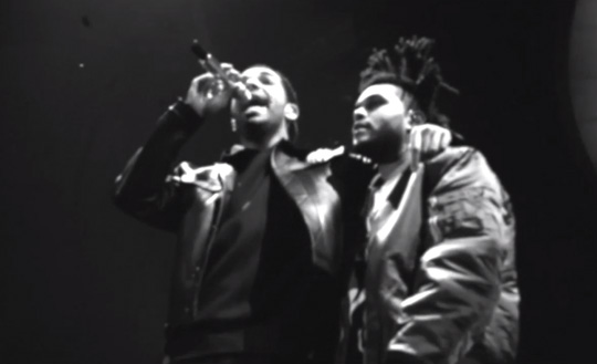 Drake & The Weeknd Perform Crew Love Live In London England