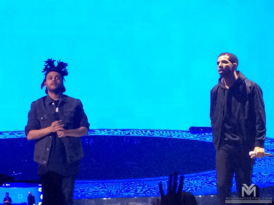 Drake Performs Live With The Weeknd In Dublin Ireland