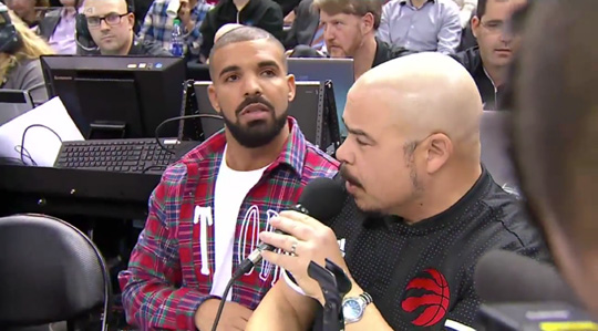 Drake Announces Toronto Raptors' Starting Lineup For The 3rd Annual Drake Night