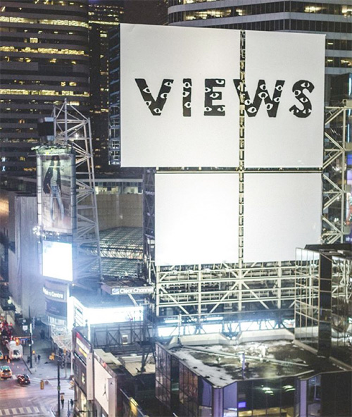 Drake Covers Toronto With Views From The 6 Ads