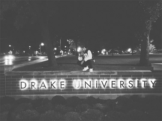 Drake Pays A Visit To Drake University In Iowa, But Students Sleep Through It