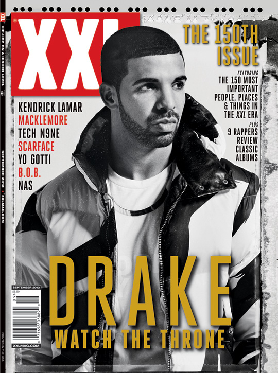 Drake Covers 150th Issue Of XXL Magazine