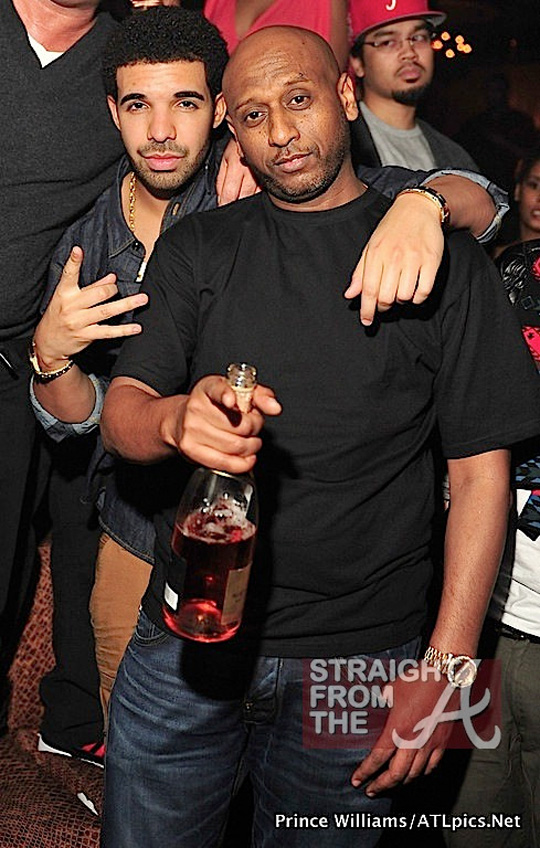 Drake Attends Young Jeezy Mixtape Release Party At Vanquish Nightclub