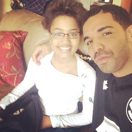 Drake Makes A Young Terminal Cancer Patient Dream Come True