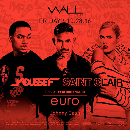 Euro To Perform Live At Wall Lounge In Miami, Florida