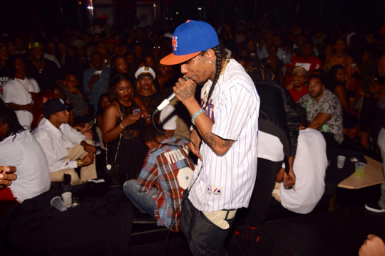 Flow Attends & Performs Live At Eiffel Society In New Orleans