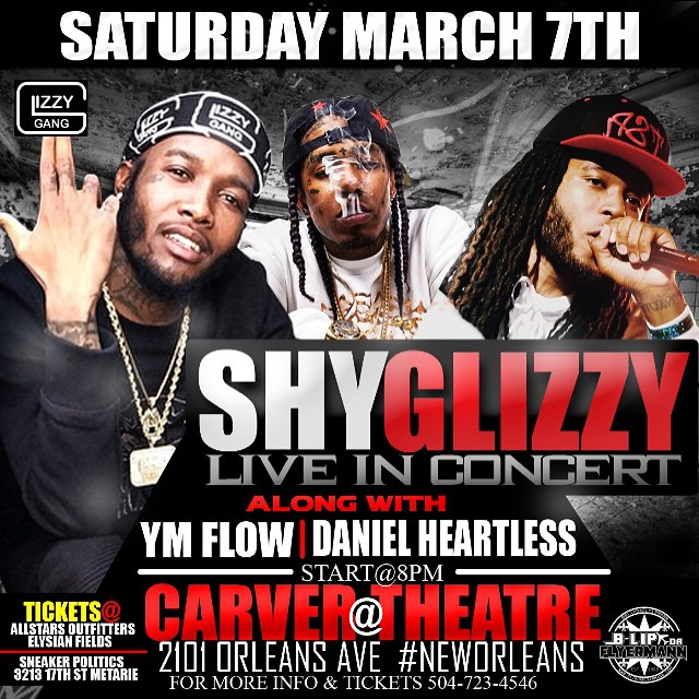 Flow To Perform Live At The Carver Theatre In New Orleans On March 7th