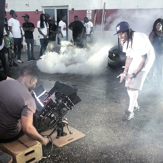 On Set Of Flow & Slim Boogie Wait Video Shoot In New Orleans