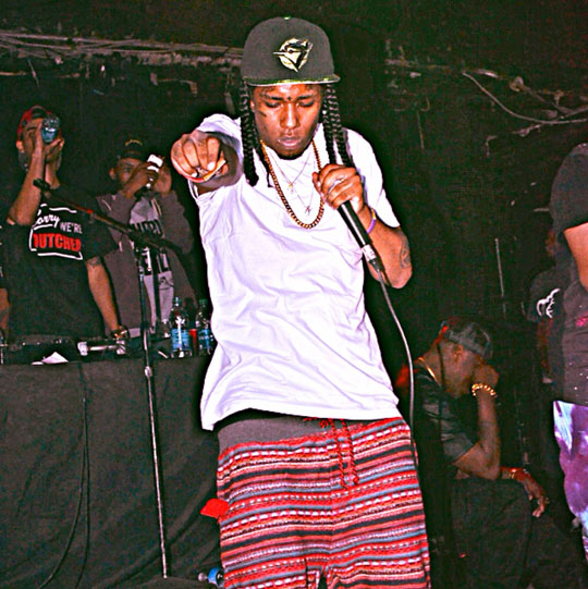 Flow & The Flamez Perform Live At The Howlin Wolf In New Orleans