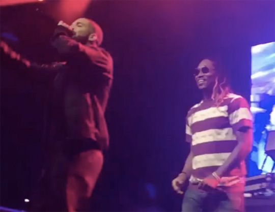 Future Brings Out Drake To Perform Where Ya At & Back To Back Live At Ryerson University In Toronto