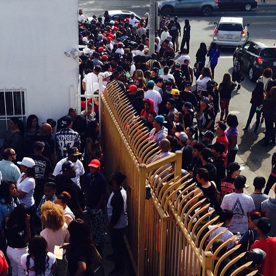 Pictures From The Grand Opening Of Tyga Last Kings Store In Los Angeles
