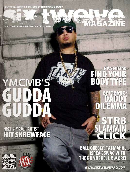Gudda Gudda Covers October-November Issue Of Six Twelve Magazine