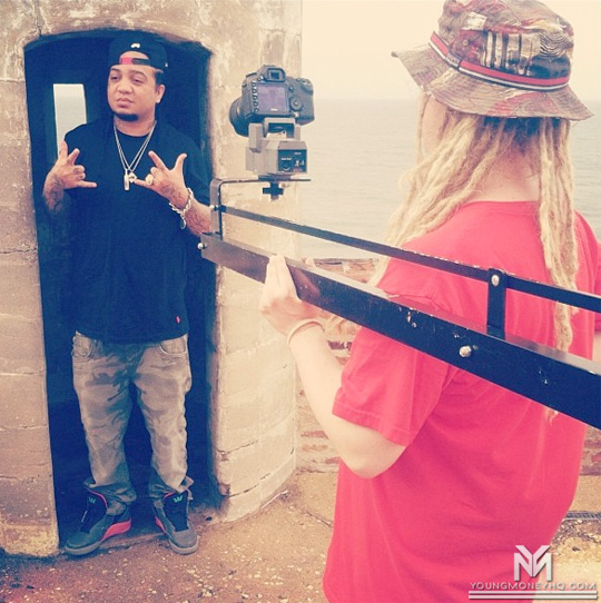 Gudda Gudda Shoots A Music Video For Life Is In Puerto Rico
