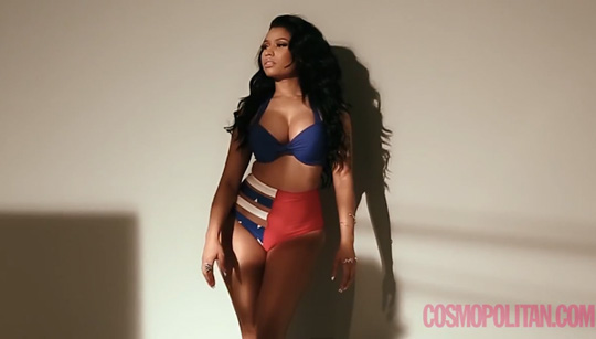 Interview & Behind The Scenes Of Nicki Minaj Cover Shoot With Cosmopolitan Magazine
