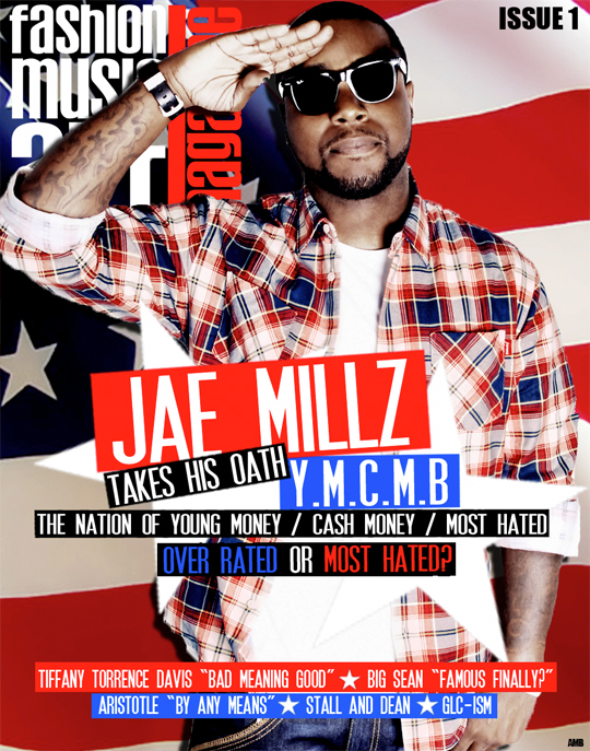 Jae Millz Covers FMA Magazine x Scans