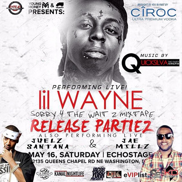 Jae Millz & Juelz Santana To Perform At Lil Wayne Show At Echostage In Washington