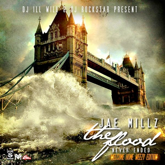 Jae Millz The Flood Never Ended Official Mixtape Cover