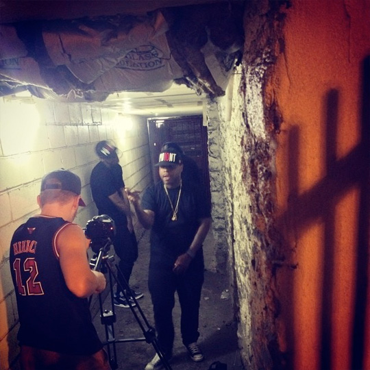 Jae Millz Shoots A Music Video For Where Was You At In New York