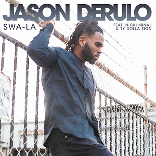 Jason Derulo Reveals Release Date & Artwork For His Swa-La Single Featuring Nicki Minaj & Ty Dolla Sign