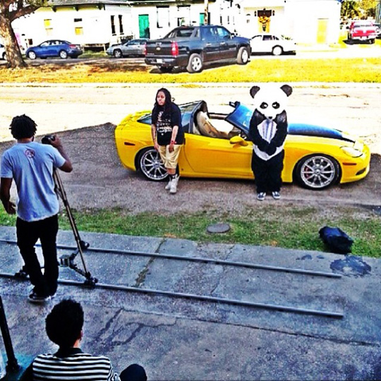 On Set Of JaSoRude & Flow Dope Video Shoot In New Orleans