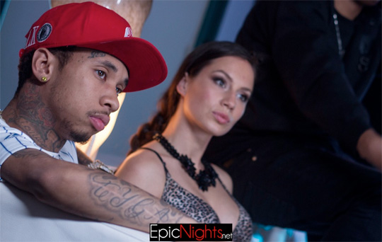 On Set Of Jazz Lazer, Tyga, YG & Mally Mall Eat Video Shoot