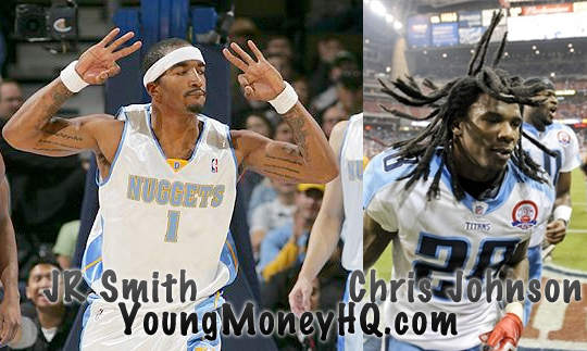 JR Smith And Chris Johnson Are Signed To Young Money Athletes