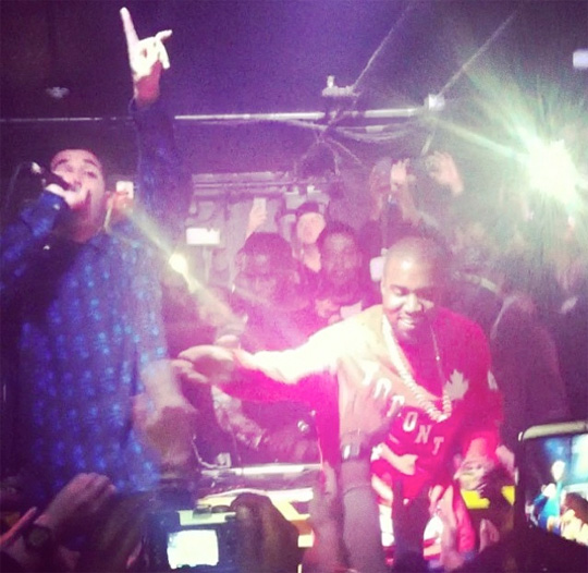 Kanye West Calls Drake A Rap God, Both Attend An After Party At The Hoxton
