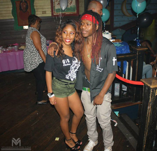 Lil Chuckee Attends & Performs At The House Of Blues For Birthday Bash