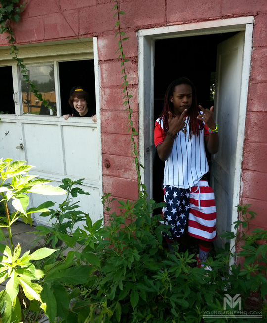 On Set Of Lil Chuckee & Julez Fuck With Me Video Shoot