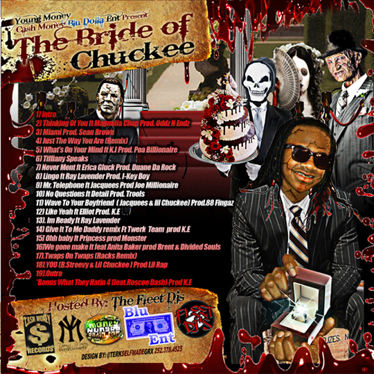 Lil Chuckee The Bride Of Chuckee Mixtape Back Cover