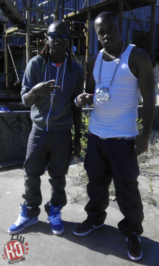 Pictures Of Lil Chuckee On Set Of Yo Gotti & Rick Ross Harder Video Shoot