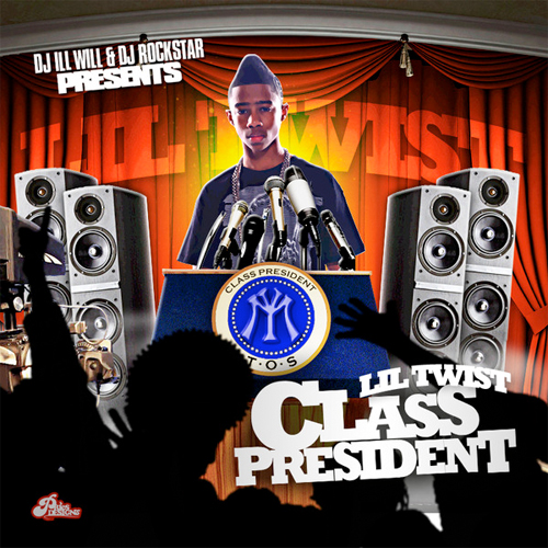 Lil Twist Class President Official Front Cover