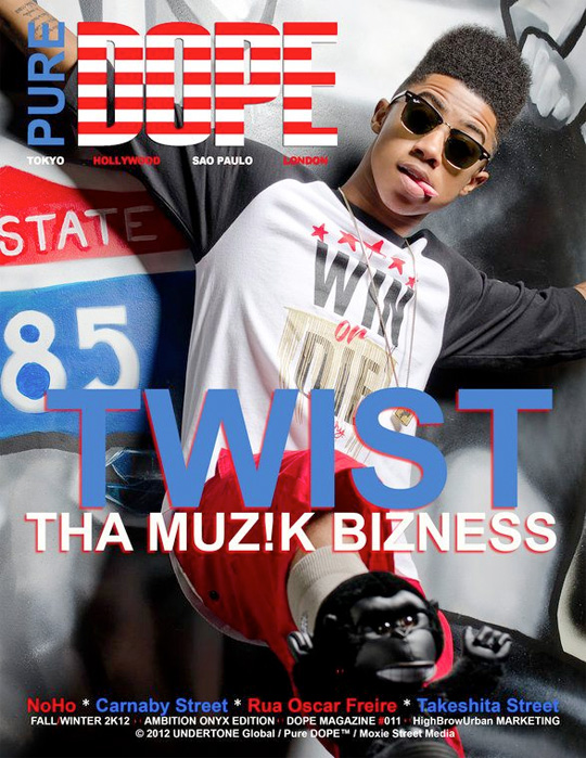 Lil Twist Featured On Front Cover Of DOPE Magazine