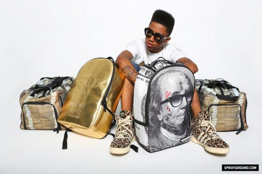 Behind The Scenes Of Lil Twists Photo Shoot With Sprayground