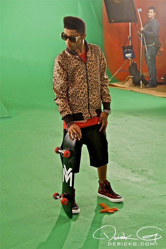 Pictures On Set Of Lil Twists Turnt Up Video Shoot
