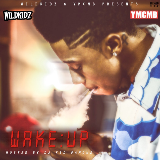 Official Artwork For Lil Twist Wake Up Mixtape