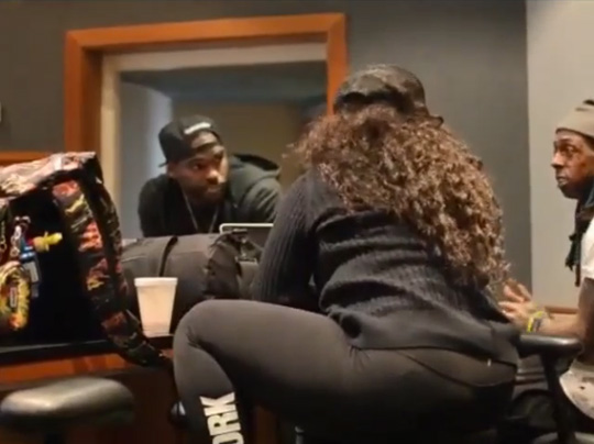 The Making Of Lil Wayne & Shanell Admit It Collaboration